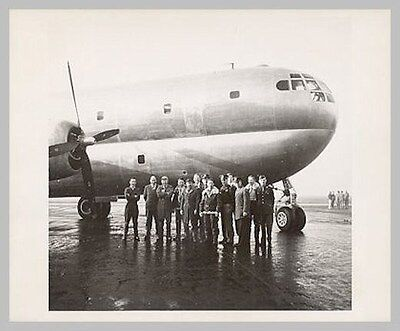 US Air Force Boeing XC-97 STRATOFREIGHTER Prototype & Crews