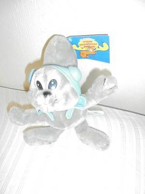 Rocky The Squirrel With Tags 9 Inches Plush Rocky & Bullwinkle