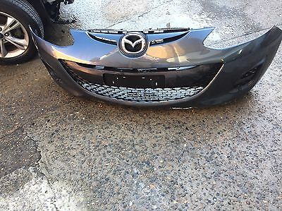Mazda 2 Front Bumper Bar With Grill '07/'14