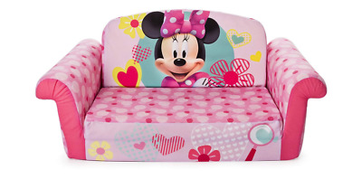 Superieur Marshmallow Minnie Mouse Flip Open Sofa Disney Kids Girls Minnie Mouse  Pull Out