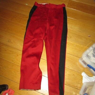 WW1 French Red Officers Pants  Pre And Early War