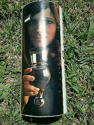 Vintage HOLMEGAARD Neck Glass 70s Handblown Wine / Drink by Christer Holmgren