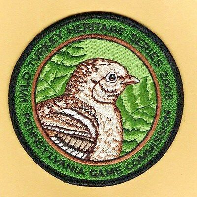 Pa Pennsylvania Game Commission NEW 2008 Wild Turkey Heritage series patch