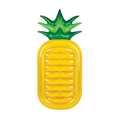 SunnyLife Lie-On Inflatable Pineapple Extra Large Inflatable Beach Pool