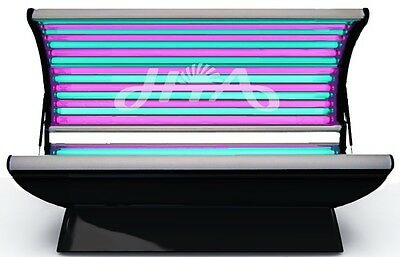 Anti-ageing tanning bed HYBRID solarium red light therapy