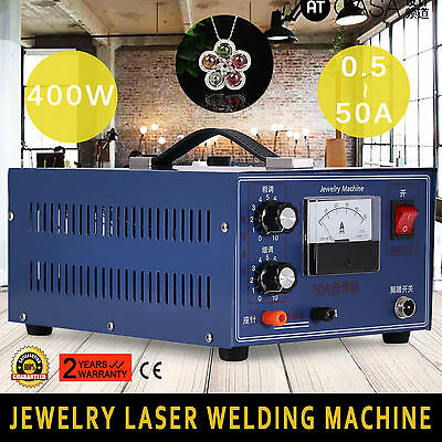 Jewelry Laser Welding Machine 2In1 Mini 400W 110V Jewelry Tool Easy Operation
