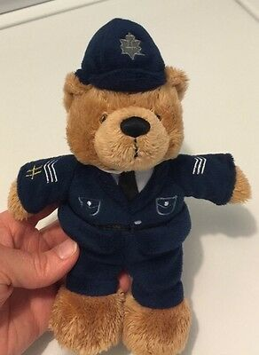 Harrods Knightsbridge Bear Plush Teddy Bear  British Bobbie Police Bear