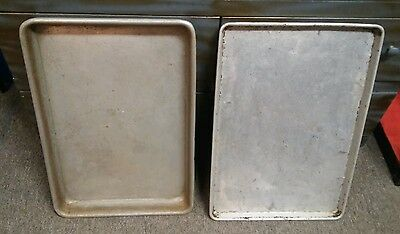 2 Bakery/ Industrial sized baking pans