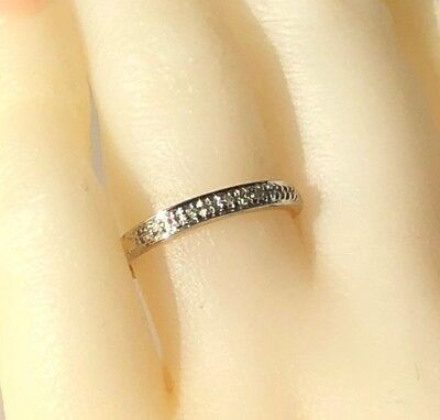 Wedding Ring Real 9K Yellow Gold Genuine Natural Diamond Engagement Wedding Ring