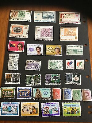 Papua And New Guinea Mint  MNH Stamps