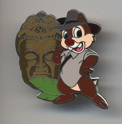 Disney Mickey's Pin Odyssey INDIANA DALE MYSTERY PIN -- Chip An Jones -- RARE
