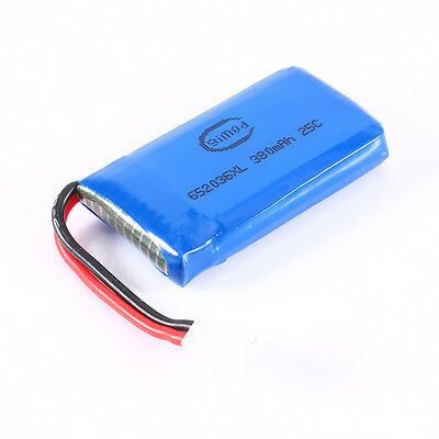 2pc 3.7V 380mAh 25C Upgraded Battery For Hubsan X4 H107 Ladybird RC Quadcopter C