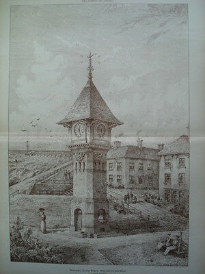 Clock-Tower, Walton-on-Naze, Essex, England, 1893- Original Plan