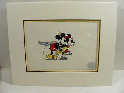 """1935 """"On Ice"""" by The Walt Disney Company Limited Edition Serigraph"""