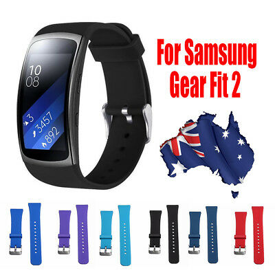 Silicone Replacement Watch Band Strap Film Cover For Samsung Gear Fit 2 SM-R360