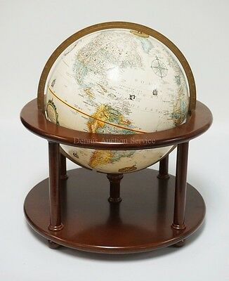 REPLOGLE 12 INCH CLASSIC GLOBE IN RELIEF. 18 INCHES HIGH. 16 1/2 INC... Lot 1061