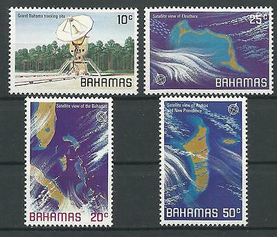 Bahamas 1981 Sc#486-9 Satellite Views of Different Bahamian Islands MNH