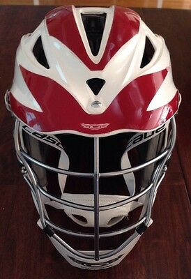 Cascade Pro7C Lacrosse Helmet. Size OSFM. One Size Fits Most Over 13 Years