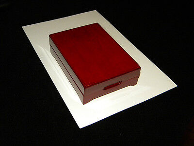 Cherry Wood Display Box meant for coin but can be for other i.e. Money Clip