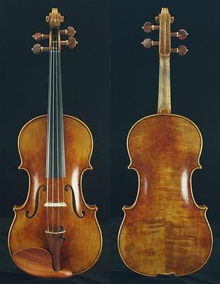 Guarneri Del Gesu 1744 copy 4/4 Violin #6420. A Masterpiece