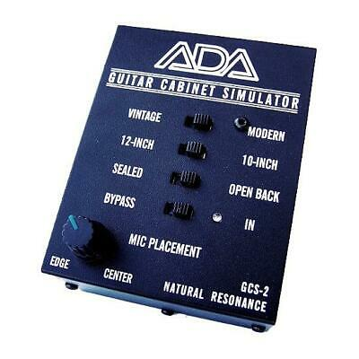 NEW! A/DA GSC-2 Guitar Cabinet Simulator & DI Box