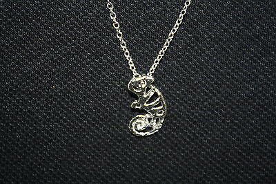 "Chameleon, Reptile, Lizard Necklace, This is a cute necklace 18"" chain"