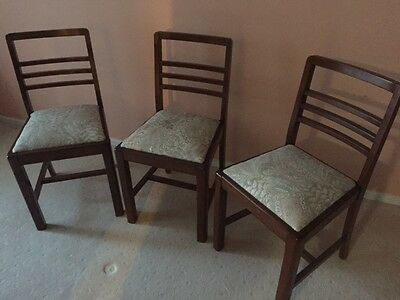Dining chairs 1970's by 3
