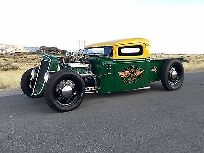 1936 International Harvester Other Traditional Rat Rod Pickup Truck 1936 International Harvester Traditional Style Hot Rod Rat Rod Pickup Truck SCTA