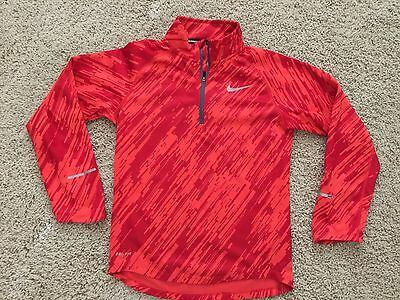 Nike Dri Fit Running Youth Long Sleeve Shirt Small