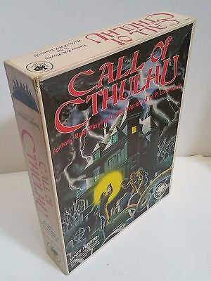 Call of Cthulhu 1st Edition 1981 Box Set Fantasy Role Playing Game H.P.LOVECRAFT