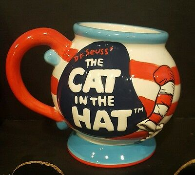 Rare Collectible Cat in The Hat Mug Cup 2003 Dr Seuss