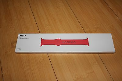 NEW! Apple Sport Band for Apple Watch 42mm Pink  MJ4T2ZM/A Band Only