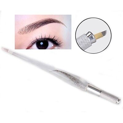Newest Eyebrow Manual Tattoo Pen Permanent Makeup Embroidery Tatoo  For Needle