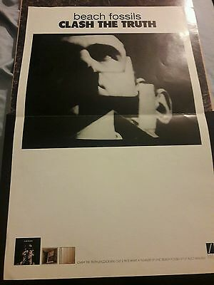 beach fossils clash the truth promo poster Diiv wild nothing shoegaze c86