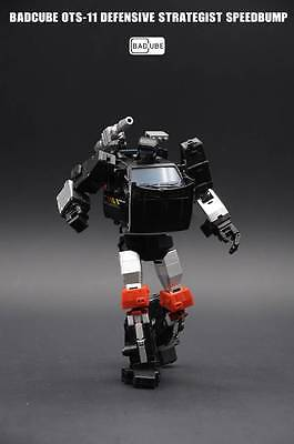 New Transformers toy BadCube OTS-11 Speedbump G1 Trailbreaker MP scale in stock