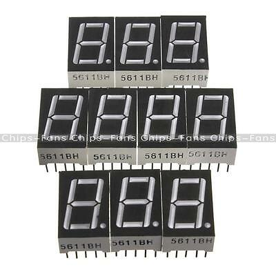 7 segment 0.56/1.8/0.36 /0.5inch 1/3/4 Digit Common cathode/Anode Led Display
