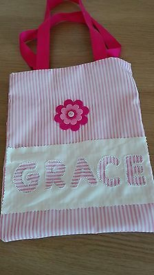 Child's/Girls/Kids Personalised Tote Party Bag