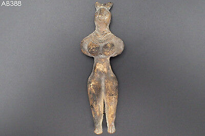 Rate Ancient Teracotta Mother Goddess Torso Indus Valley 600 BC #388