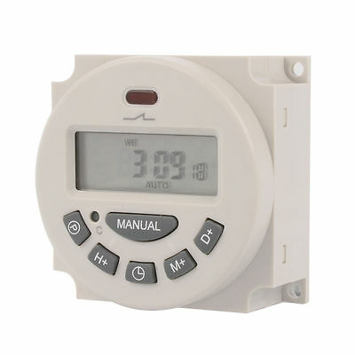 DC 12V 16A LCD Digital Programmable Timer Switch Time Control TH281