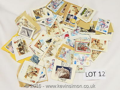 Used Mixed Kiloware Stamps GB / UK Collection Lot12