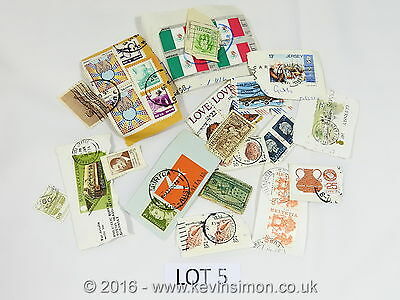 Used Mixed Kiloware Stamps Foreign Collection Lot5