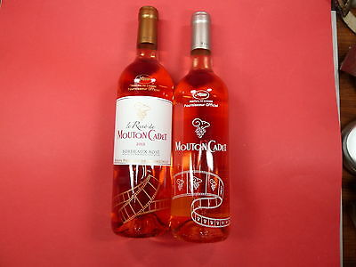Limited Edition Festival de Cannes 2014 + 2016 * 2 Fl. Mouton Cadet rose