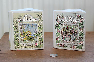 Royal Doulton Brambly Hedge Money boxes : Spring & Summer