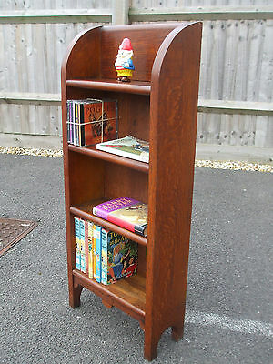 Vintage quarter sawn oak bookcase, very solid, A1 quality, fast economy delivery