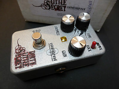 Catalinbread Dirty Little Secret Effects Pedal Rare Version 1