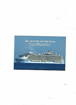 Postcard Ms Allure Of The Seas Royal Caribbean Cruise Line