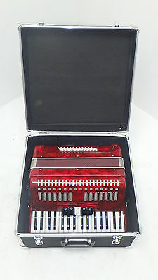 Deluxe Accordion by Gear4music, 48 Bass - DAMAGED - RRP £500.00