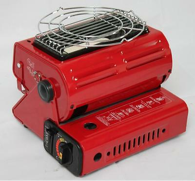 2 in1 Portable Butane Gas Heater Outdoor Camping Hiking Survival Canister Cooker