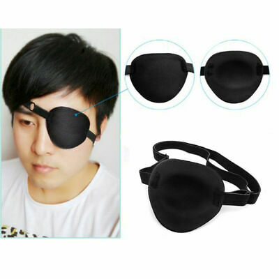 Medical Use Concave Eye Patch Foam Groove Washable Eyeshades Adjustable Strap