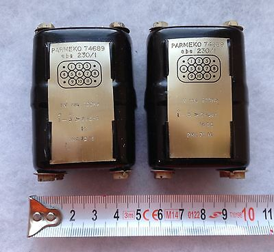 Parmeko Oil filled Smoothing Choke Inductor Transformer Pair